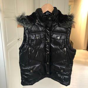 Harley Davidson puffer vest